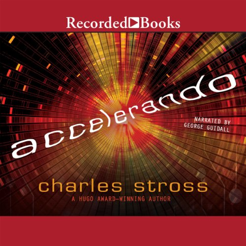 Accelerando audiobook cover art