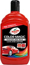 Turtle Wax Color Magic 52711 Car Polish Cleans Shines Restores Scratches - Radiant Red Wax 500ml