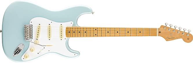 fender stratocaster sonic blue maple neck