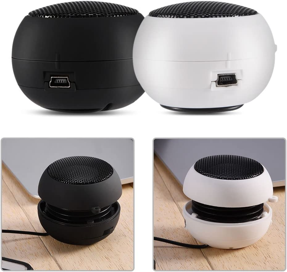 Wisoqu Mini Speaker Portable Desig Retractable Spring new work one after another Max 52% OFF Hang Hole