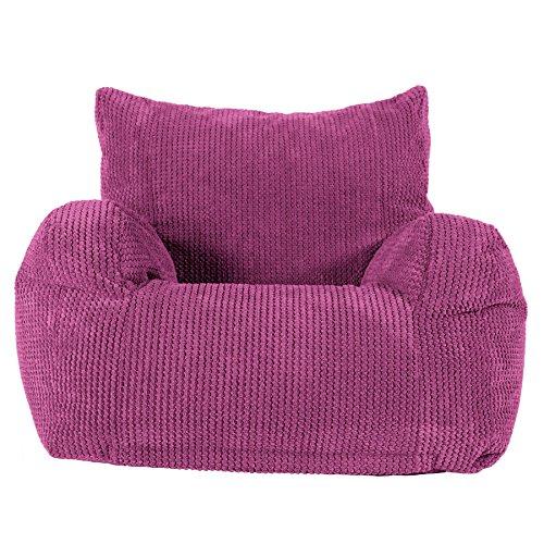 Lounge Pug®, Sitzsack Ohrensessel, Pom-Pom Pink