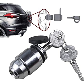 Jeep Wrangler JL Bolt Lock 7032301 Spare Tire and Wheel Lock for 2018
