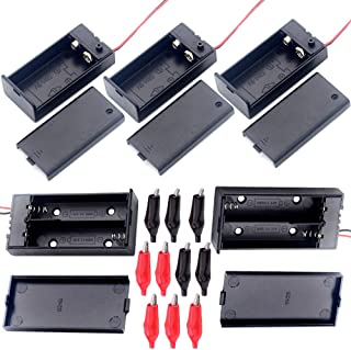 2 x PP3 batteria standard Clip 150mm Piombo