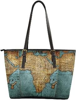 Best map tote bag Reviews