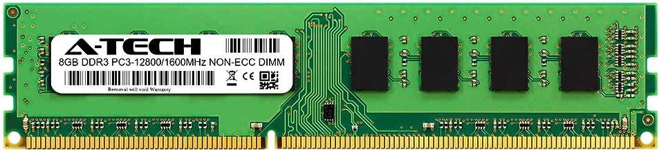 A-Tech 8GB Module for HP Compaq Elite 8300 (Microtower) Compatible DDR3 1600MHz PC3-12800 Non-ECC DIMM 1.5V - Single Desktop & Workstation Memory RAM Stick (ATMS397734A24738X1)