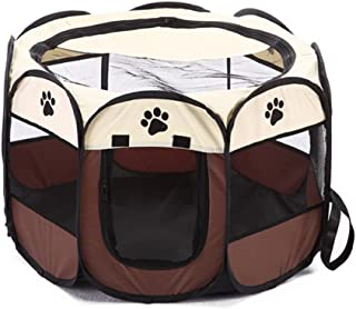 Labellevie Portable Mesh Shade Cover Pet Tent Pet Fence, Foldable Indoor Outdoor Pop-up Cat Dog Playpen Camping Tent for P...