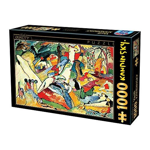 Unbekannt D de Toys 1–Puzzle 1000Kandinsky
