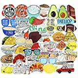 Vine Water Bottles Stickers for Laptop Funny Teens Cartoon Luggage Cars Skateboard Bicycle Aesthetic Stickers Decals 65pcs