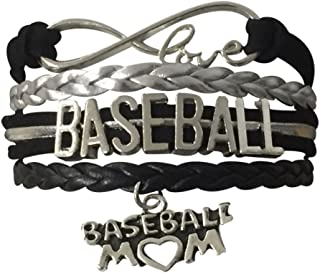 Baseball Mom Bracelet- Baseball Jewelry for Moms for Baseball Moms
