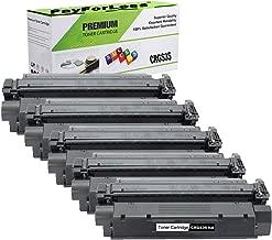 PayForLess Compatible Toner Cartridge S35 S-35 Black 5PK for Canon imageClass D300 D320 D340 D360 L170 L400 L380