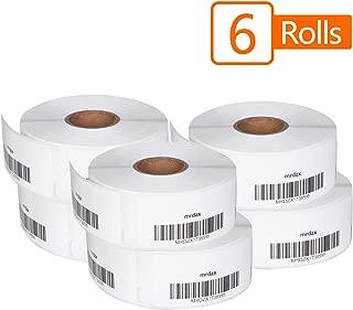 6 Roll Compatible Dymo 1738595 File Folder Labels, 3/4