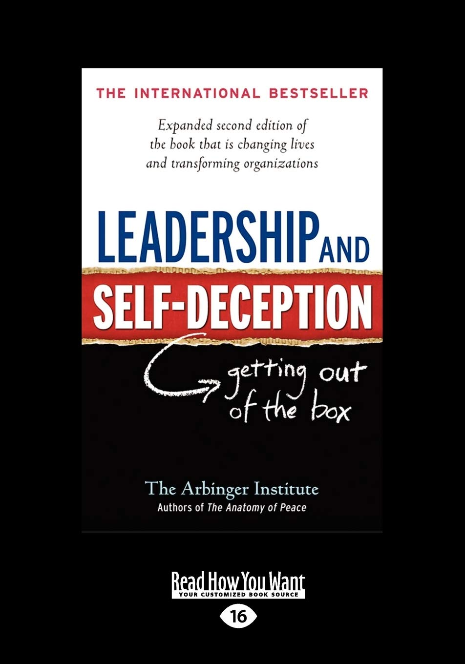 Image OfLeadership And Self-Deception: Getting Out Of The Box (Large Print)