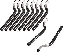 Herramienta de desbarbado de Metal LAQI 10 Piezas de Piezas de reparaci/ón de Herramientas de desbarbado de Cuchillas a12062500ux0462 BS1010 S10
