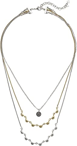 Pave Layer Necklace