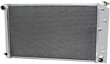 OzCoolingParts 2 Row Core Aluminum Replacement Radiator for 1966-1990 67 68 69 70 71 72 73 74 75 76 77 78 79 80 Chevy Chevelle El Camino Truck Buick Cadillac Oldsmobile Pontiac and More