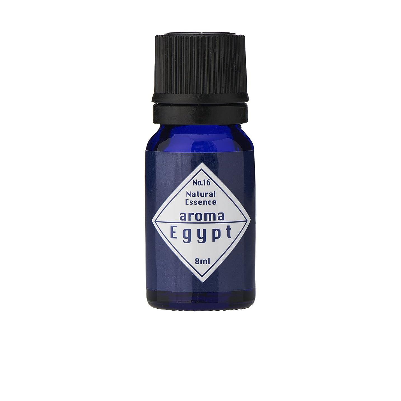 スキム火山マントブルーラベル アロマエッセンス8ml エジプト(アロマオイル 調合香料 芳香用)
