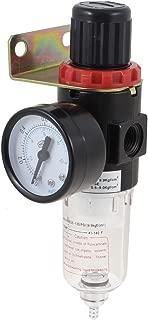 Uxcell a13061800ux0072 AFR-2000 Pneumatic Filter Regulator Air Treatment Unit w Pressure Gauge