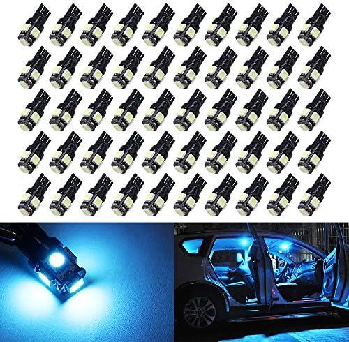 Cargo LED Extremely Super Bright BA9 BA9S 53 57 1895 64111 LED Light Bulbs with Lens