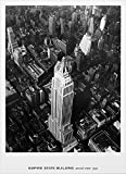 Poster, Motiv Empire State Building, Aerial View, 1935 New