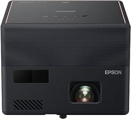 -Epson EF-12 draagbare 3LCD-laserprojector (Full HD 1920x1080p, 1.000 lumen wit- en kleurhelderheid, contrastverhouding 2.500.000:1, slechts 1,2 kg gewicht, geïntegreerde Android TV, HMDI)-aanbieding