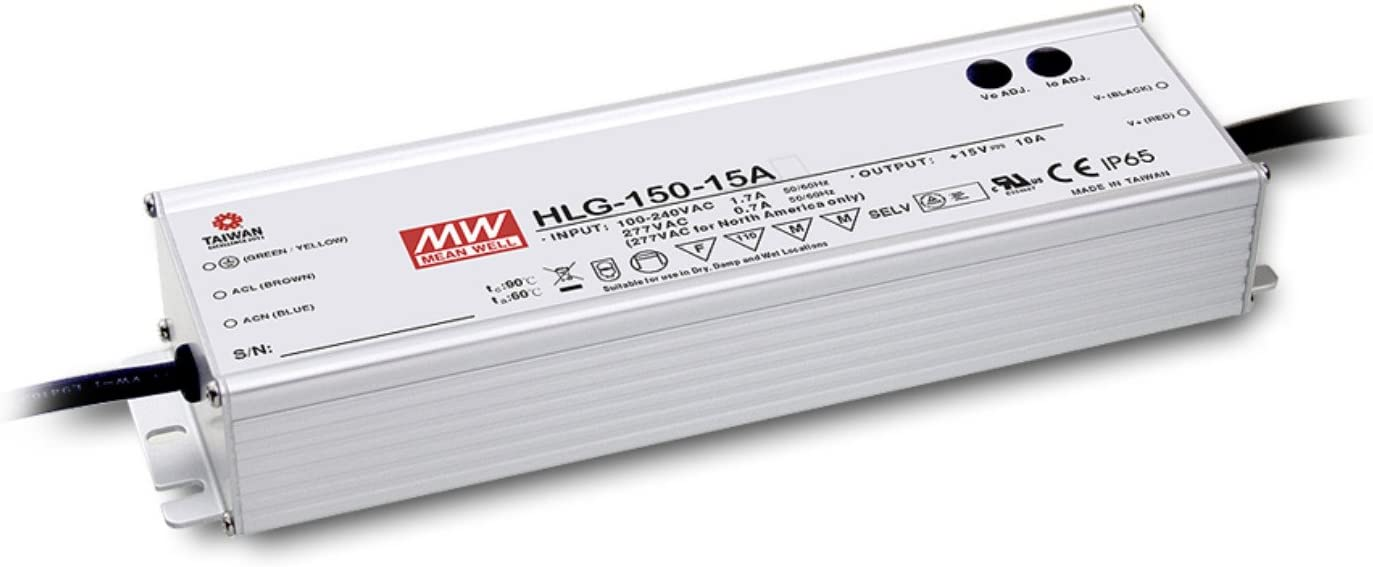 MEAN WELL original HLG-150H-54A 54V 2.8A meanwell HLG-150H 54V 151.2W Single Output LED Driver Power Supply A type