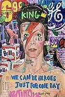 グラフィティストリートアートキャンバスプリント絵画抽象図壁画リビングルーム家の装飾ポスター 30x45cmx0007-15