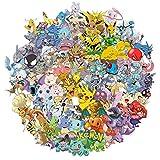 PMSMT 100 pièces Pokemon Autocollants Meilleur Cadeau pour Enfants Enfants Adolescents Dessin...
