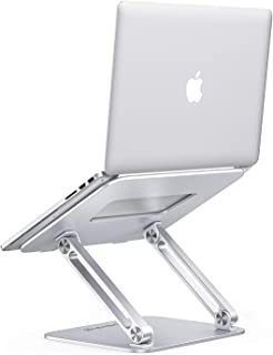 ONIVIB Datorstativ, justerbar surfplattehållare skrivbord, hopfällbar bred kompatibel (10–17 tum) datorlapdesks, för MacBo...