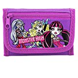 Disney Monster High Purple Tri-fold Wallet by