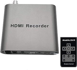 HDMIビデオレコーダー HD 1080P60HZ HDMI to CVBS/VGA/HDMIへの変換 コンバーター、Switch PS4 Xbox Wii U ウェブカメラ PS3に対応、HDMIゲーム録画・HDMIビデオ録画・ライブ配信用キ...