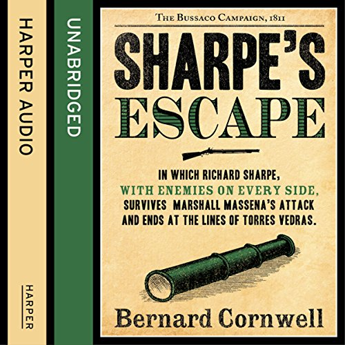 Sharpe's Escape: The Bussaco Campaign, 1810 cover art