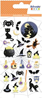 Stickers puffies Halloween - Potions - 28 autocollants