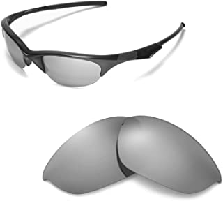 Walleva Replacement Lenses Or Lenses With Rubber Kit for Oakley Half Jacket Sunglasses