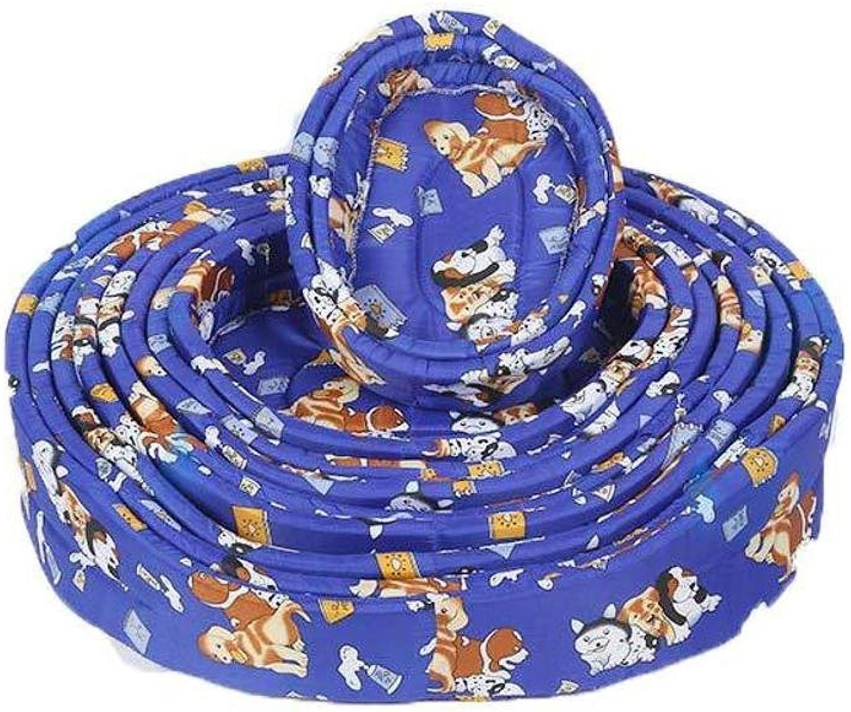 BiuTeFang Pet Bolster Dog Bed Comfort Pet Nest Cushion Kennel Pet cotton Nest Four Seasons General pet Mat supplies 63  53  15cm
