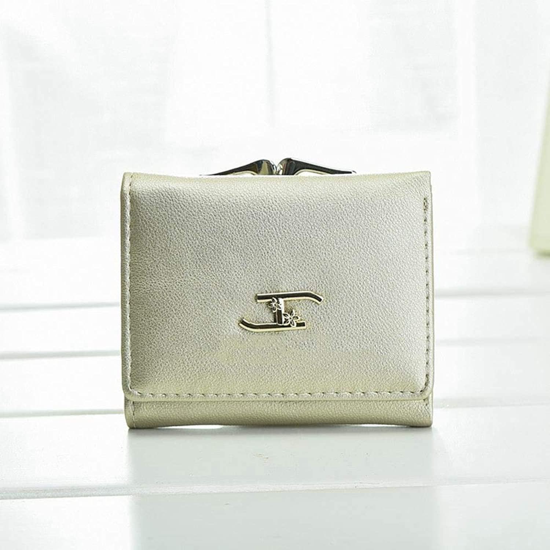Girls Purse Women's Wallet,Ladies Wallet Short 30 Percent Student Small Wallet (color   F)