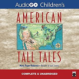 American Tall Tales audiobook cover art