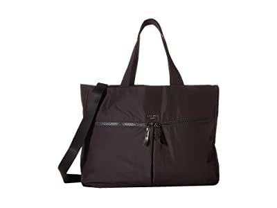 KNOMO London Dalston Amsterdam Tote (Black) Tote Handbags