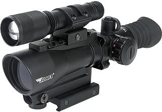 BSA Guns 30mm Tactical Weapon TW30RDLL Red Dot Sight Laser/140 Lumens Flashlight