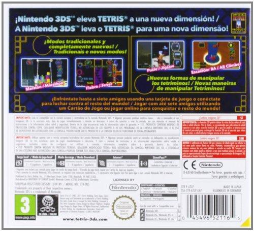 3Ds Tetris 3D: Amazon.es: Hogar