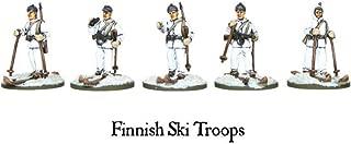 Black Powder Warlord Games, Finnish Ski Troops, Wargaming Miniatures