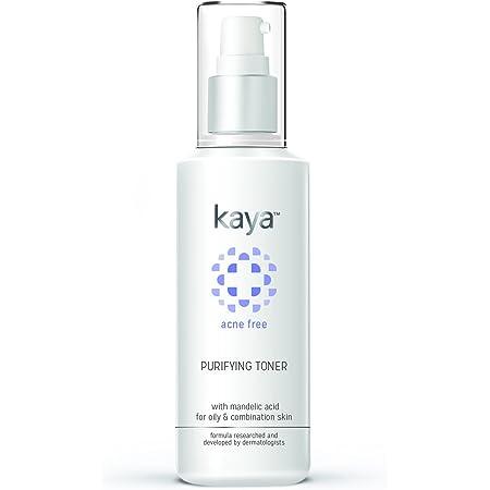 Kaya Clinic Acne Free Purifying Toner, Alcohol free Toner with Mandelic Acid & Niacinamide for combination, oily skin, 100 ml