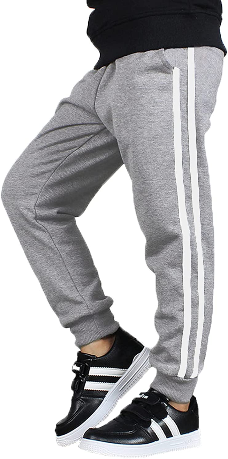 Boyoo Boys Basic Sweatpants Manufacturer direct delivery Youth Training Pants Tricot shopping Athletic