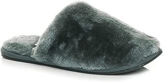 Ajvani Women's Luxury Cosy Fur Mules Slippers