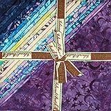 Island Batik Wonderland Stapel, 25,4 x 25,4 cm, 42 Stück,