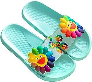 Women's Slide Sandals Smile Face Sun Flower Soft Sole Beach Shower Slides