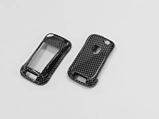 GHXSport Gloss Carbon Fiber Pattern Flip Key Remote Key Protection Case for Porsche Cayenne 1st Generation (2003-2010)