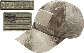 Gadsden and Culpeper Operator Cap Bundle w/USA & Molon Labe Patches (Mesh ATACS)