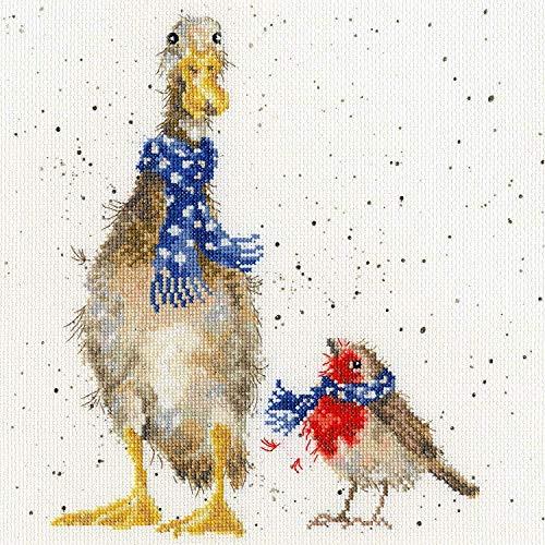Bothy Threads Cross Stitch Kit - Christmas Scarves