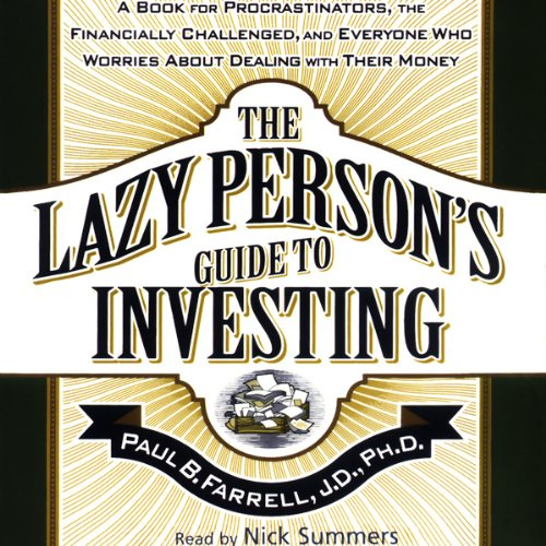 The Lazy Person's Guide to Investing audiobook cover art