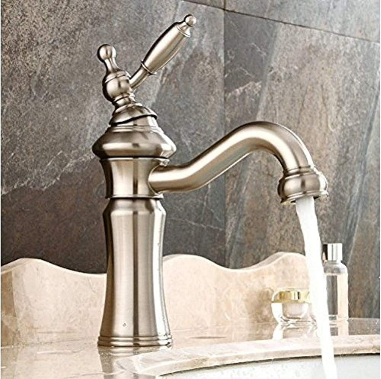 360 ° drehbarer Wasserhahn Retro Wasserhahn Becken Wasserhahn American Style Becken Wasserhahn